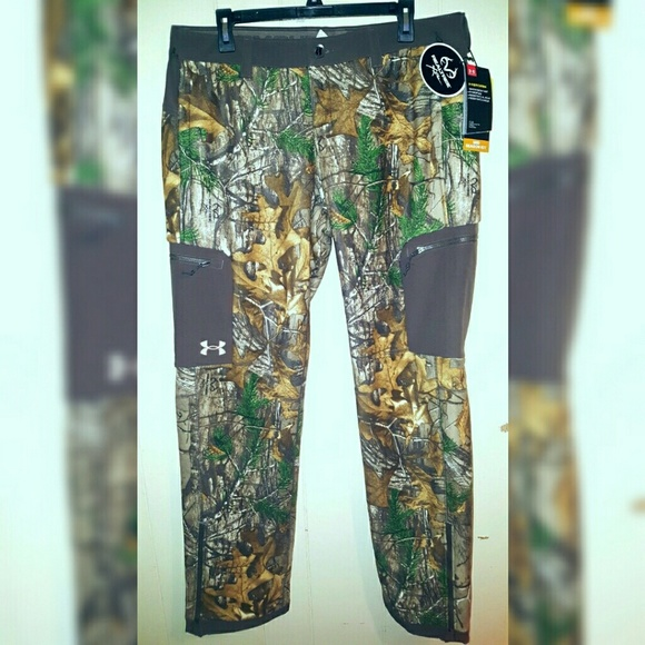 a39afdc86d403 Under Armour Pants | Realtree Hunting Women Sz Large | Poshmark